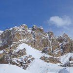 Dhankar Icefall. Spiti Valley